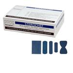 Cerotti Blu Detectable - 5 misure assortite - blu - PVS - conf. 100 pezzi