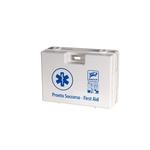 Valigetta di pronto soccorso Multisan - 44,3x33,8x14,7 cm - HACCP - oltre 3 persone - bianco - PVS