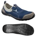 Calzatura di sicurezza Miami S1P SRC - poliestere/cotone - numero 44 - grigio/blu - Deltaplus
