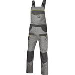 Salopette da lavoro Mach 2 Corporate - tela/poliestere/cotone - taglia L - grigio chiaro/grigio scuro - Deltaplus