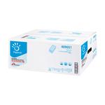 Asciugamani piegati a V Special - 2 veli - goffratura a onda - 20 gr - 24x21 cm - bianco - Papernet - conf. 250 pezzi