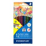 Pastelli colorati Noris Colour - Staedtler - Astuccio 12 pastelli colorati