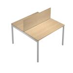 Pannello divisorio Agorà - per scrivania multiple - 120x32 cm - rovere  - Artexport