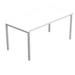 Scrivania Easy Plus - lineare - 118x80x72,5 cm - bianco - Artexport