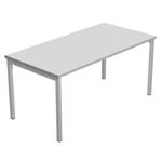Scrivania Easy Plus - lineare - 178x80x72,5 cm - grigio - Artexport