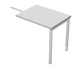 Allungo Easy Plus - DX/SX - 79x60cm - H72,5cm - grigio - Artexport