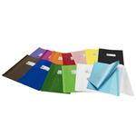 Coprimaxi Green line - 21x30cm - PVC - blu - tasca portanome - con alette - Ri.plast