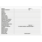 Cartello segnalatore - 67x100 cm - cantiere specifiche dei lavori - polionda - Cartelli Segnalatori