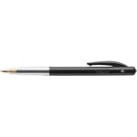 Penna a sfera a scatto M10 - punta 1,0mm - nero  - Bic - conf. 50 pezzi