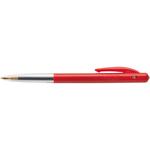 Penna a sfera a scatto M10 - punta 1,0mm - rosso  - Bic - conf. 50 pezzi