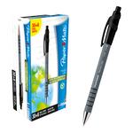 Penna a sfera a scatto Flexgrip Ultra  - punta 1,0mm - nero - Papermate - conf. 30+6 pezzi
