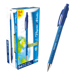 Penna a sfera a scatto Flexgrip Ultra - blu - punta 1,0mm - Papermate - conf. 30+6