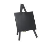 Mini Lavagna con cavalletto nero - 26x15 cm - Securit