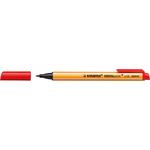 Pennarello Greenpoint  - punta 0,8mm - rosso - Stabilo