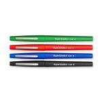 Pennarello Flair Nylon punta feltro - punta 1,10mm - Papermate - astuccio 4 colori: turchese,fuxia,verde chiaro,arancio