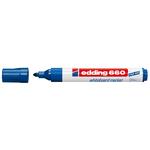 Marcatore 660 per lavagne bianche - punta conica da 1,50-3,00mm - blu - Edding