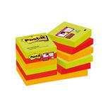 Blocco foglietti Post it® Super Sticky - colore Marrakesh - 47,6 x 47,6 mm - 90 fogli - Post it®