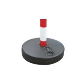 Base tonda per colonnina di sicurezza - diametro 30 cm