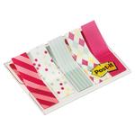 Segnapagina Post it® Index Mini - motivi Candy - 12x43,2 mm - Post it® - conf. 100 pezzi