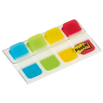 Segnapagina Post it® Index Strong Mini -  colori classici - 15,8x38 mm - Post it® - conf. 40 pezzi