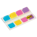 Segnapagina Post it® Index Strong Mini -  colori vivaci - 15,8x38 mm - Post it® - conf. 40 pezzi