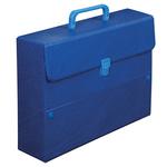 Valigetta Ulisse 3000 - dorso 8 cm - 25x35 cm - Colpan® - blu - Sei Rota
