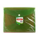 Buste con bottone - PPL - 24x18,5 cm - mix 3 colori fluo - Lebez - conf. 5 pezzi