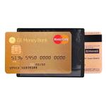 Portadocumenti RFID Hidentity® Duo per bancomat /carta di credito - PVC - 8,5x6 cm - nero - Exacompta
