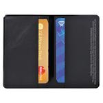 Portadocumenti RFID Hidentity® Doppio per bancomat/carta di credito - PVC - 9,5x6 cm - nero - Exacompta