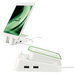 Base di appoggio e caricatore universale per tablet - bianco - Leitz Complete