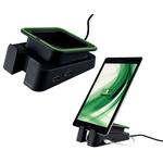 Base di appoggio e caricatore universale per tablet - nero - Leitz Complete