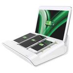 Caricatore multifunzione da tavolo XL - 4 porte USB - bianco - Leitz Complete
