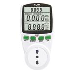 Misuratore di potenza e consumi Power Easy con display LCD - MKC