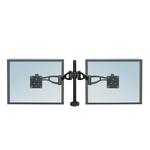 Braccio porta monitor doppio - Fellowes