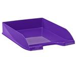 Vaschetta portacorrispondenza EcoLine - 35x25,5x6,5 cm - 24x32 cm - viola - Cep