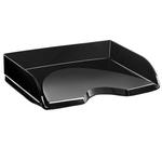 Vaschetta portacorrispondenza - apertura frontale - 26x35,1x6,9 cm - nero crystal - Cep