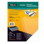 Copertine Clear - A4 - 240 micron - PVC - neutro trasparente - Fellowes - scatola 100 pezzi