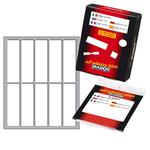 Etichetta adesiva - permanente - rettangolare - 70x20 mm - 10 etichette per foglio - 10 fogli per busta - bianco - Markin