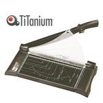 Taglierina a leva 3039 - 698x213x260 mm - 455 mm (A3) - capacità taglio 10 fg - con blocca lama - nero - Titanium