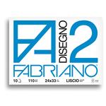 Album F2 -240x330mm - 10fg - 110gr - liscio - punto metallico - Fabriano
