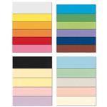 Cartoncino Bristol Color - 70x100cm - 200gr - nero 63 - Favini - Conf 10 fogli