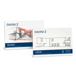 Album Favini 2 - 240x330mm - 110gr - 20fg - liscio squadrato - Favini