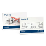 Album Favini 2 - 33x48cm - 110gr - 10 fogli - liscio - Favini