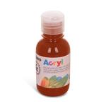 Colore acrilico fine Acryl - 125ml - terra siena bruciata - Primo