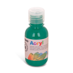 Colore acrilico fine Acryl - 125ml - verde smeraldo - Primo