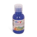 Colore acrilico fine Acryl - 125ml - blu oltremare - Primo