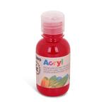 Colori Acryl - 125ml - rosso carminio - Primo