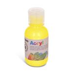 Colore acrilico fine Acryl - 125ml - giallo primario - Primo
