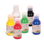 Colori per tessuti - 125ml - colori assortiti - Primo - 6 colori