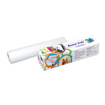 Rotolo creativo carta bianca - H30cm - 4mt - adesiva - Info